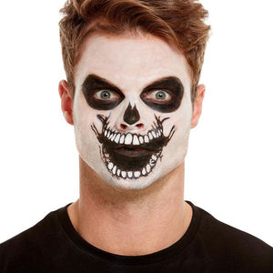 Skeleton Mouth Face Transfer - mypartymonsterstore