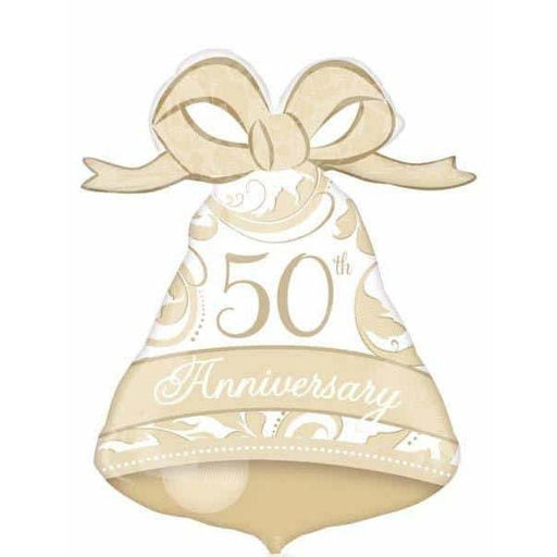 50th Anniversary Bell Supershape Balloon