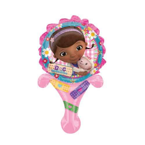 6 Inch Doc McStuffins Inflate A Fun Air Filled Balloon