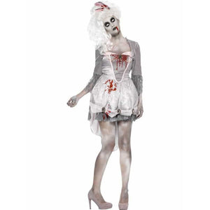 Zombie Georgian Costume - mypartymonsterstore