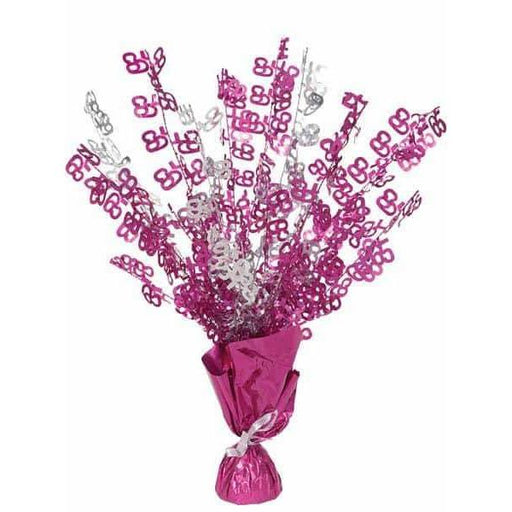 65 Pink Glitz Balloon Weight