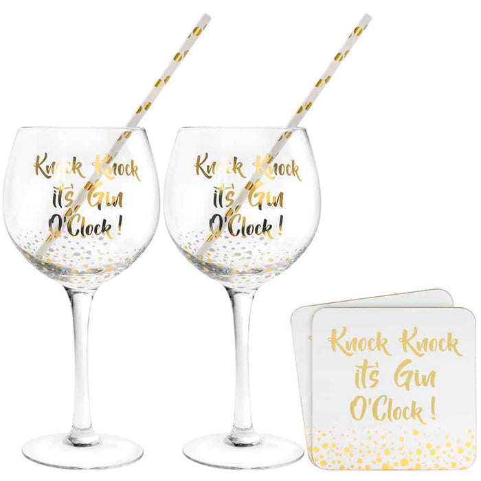 Gold Gin Cocktail Set