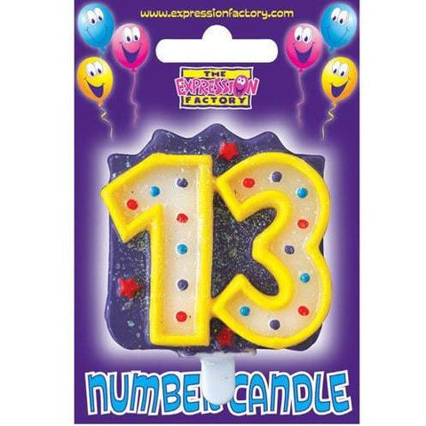Age 13-80 Birthday Candles