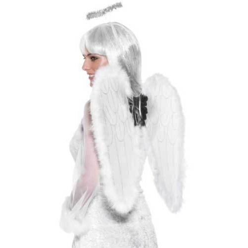 Angel Set with Fluffy Wings