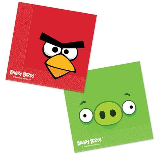 Angry Birds Paper Napkins 16pk