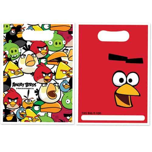 Angry Birds Party Bags 8pk