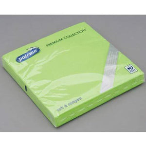 Apple Green Paper Napkins x25