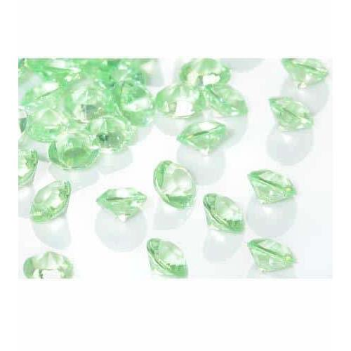 Apple Green Tiny Table Diamantes
