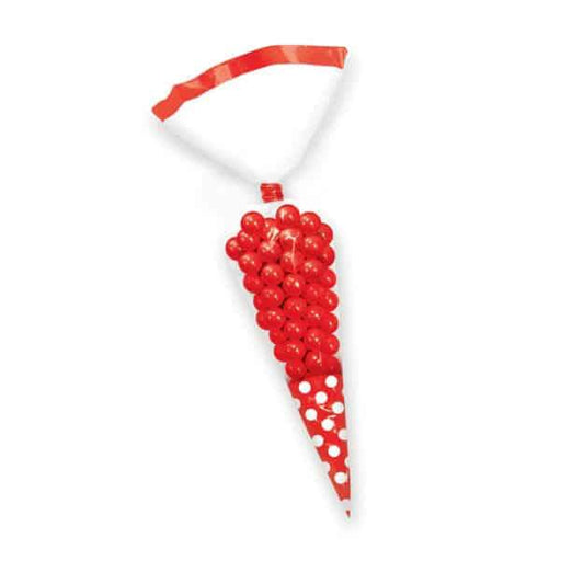 Apple Red Candy Buffet Cone Bags 10pk