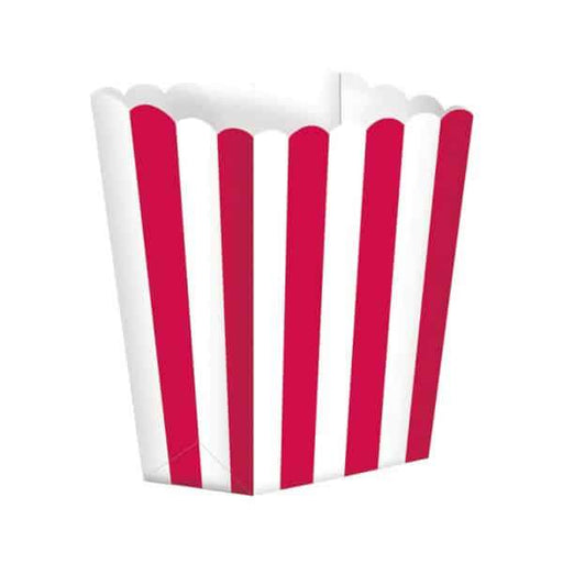Apple Red Candy Buffet Popcorn Boxes 5pk