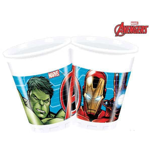 Mighty Avengers Plastic Cups - mypartymonsterstore