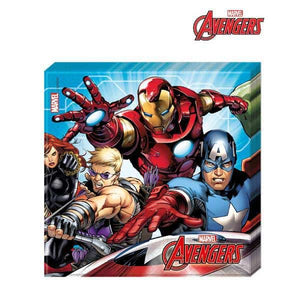 Mighty Avengers Paper Napkins - mypartymonsterstore