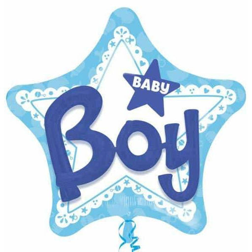Baby Boy 3D Effect Foil Balloon