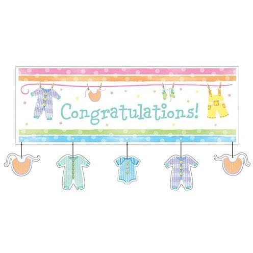 Baby Clothes Giant Banner x1