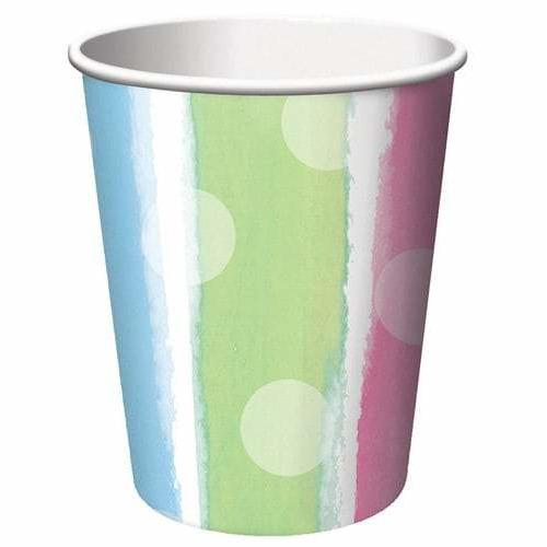 Baby Clothes Paper Cups x8