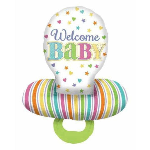 Baby Dummy Multi Foil Balloon