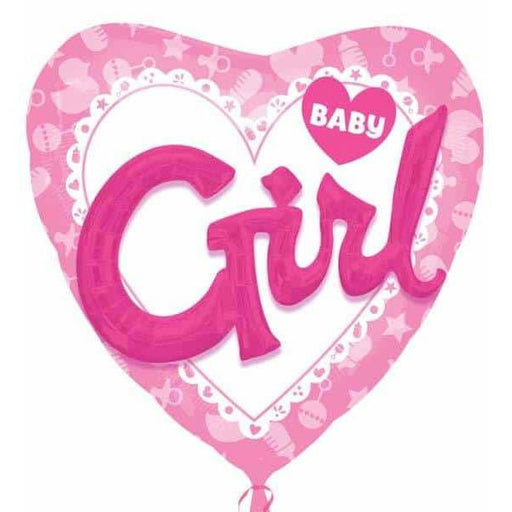 Baby Girl 3D Effect Foil Balloon