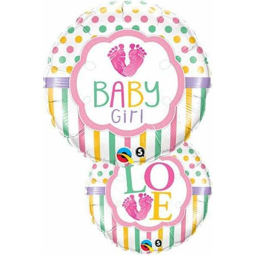 Baby Girl Love Foil Balloon