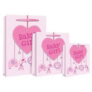 Baby Girl Mobile Tag Gift Bags
