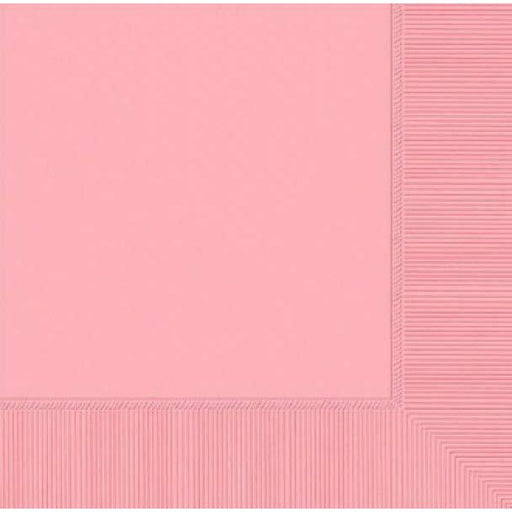 Baby Pink Luncheon 2ply Napkins 20pk