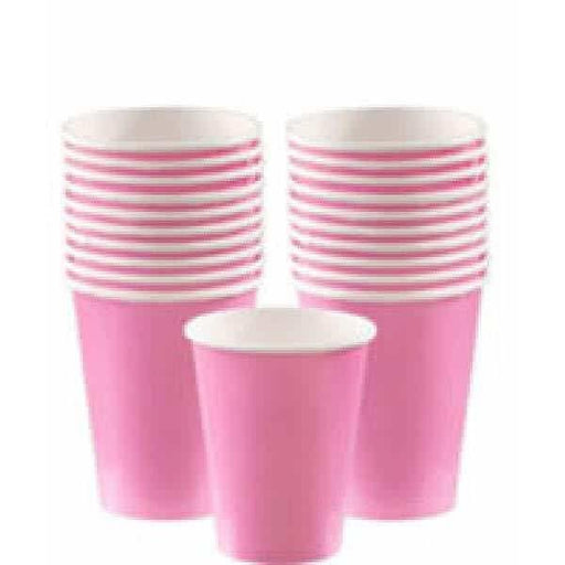 Baby Pink Paper Cups 8pk
