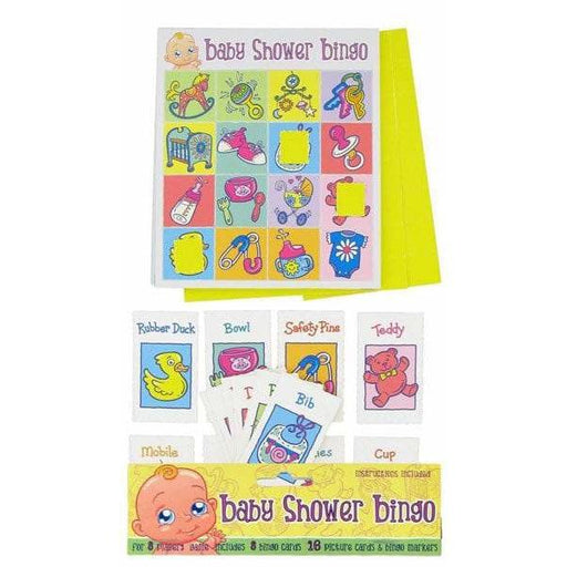 Baby Shower Bingo 8pk