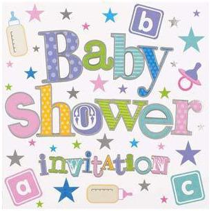 Baby Shower Card Invitations