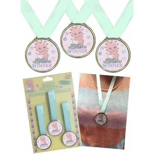 Baby Shower Winning Medals 3pk