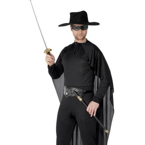 Bandit Zorro Style Sword and Eyemask