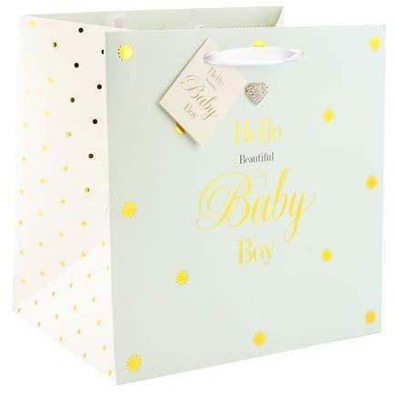 Beautiful Baby Boy Small Gift Bags
