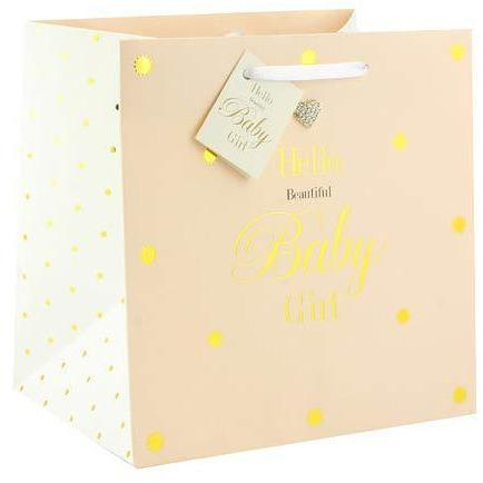Beautiful Baby Girl Medium Gift Bags