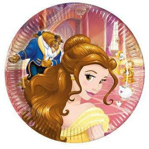 Beauty & The Beast Paper Party Plates
