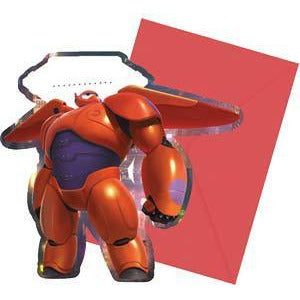 Disney Big Hero 6 Party Invitations