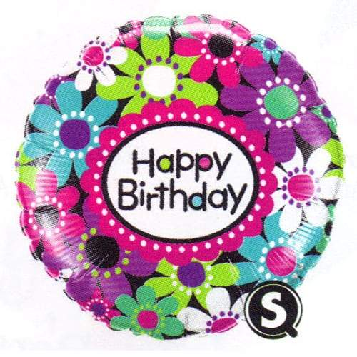 Birthday Daisy Patterns Foil Balloon