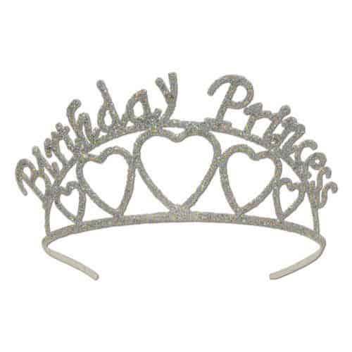Birthday Princess Glitter Tiara