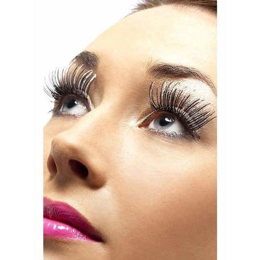 Black And Silver Holographic Eyelashes
