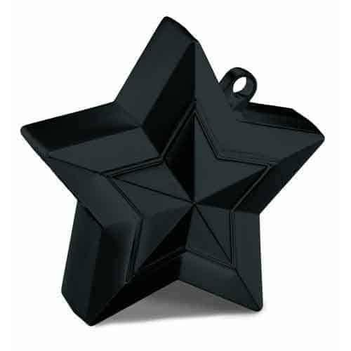 Black Balloon Star Weight