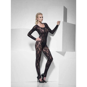 Black Lace Body Stocking
