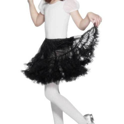 Black Layered Petticoat
