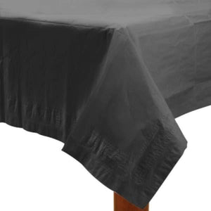 Black Paper Tablecover 1pk