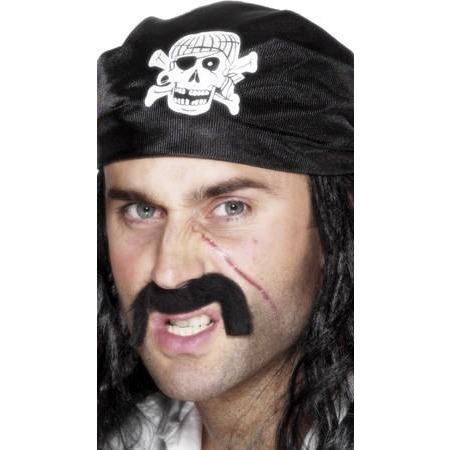 Black Pirate Bandannas