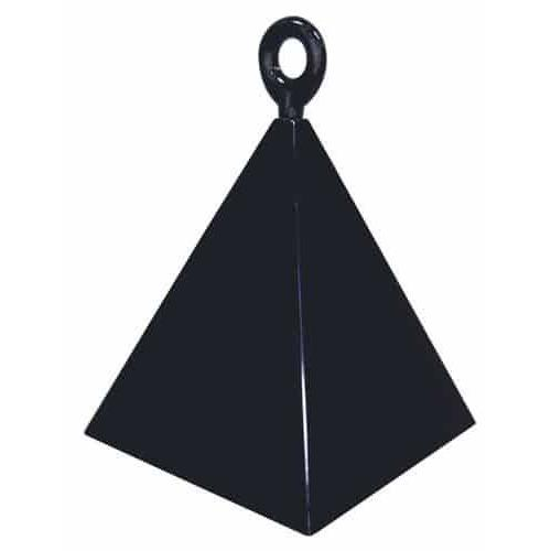 Black Pyramid Balloon Weight