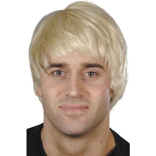 Blonde Short Guy Character Wig