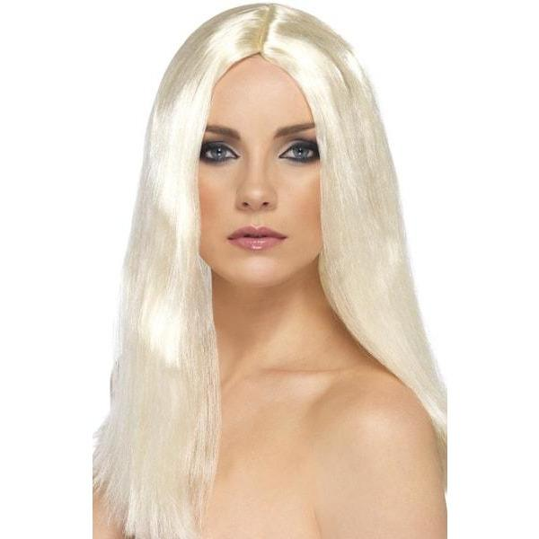 Blonde Star Style Long Female Wigs