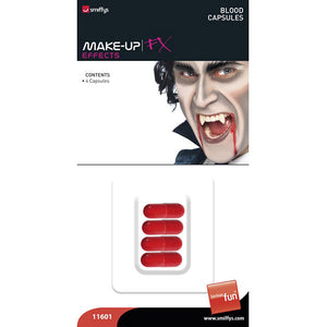 Large Blood Capsules x4 - mypartymonsterstore