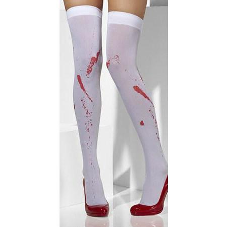 Blood Stain Opaque Hold Ups