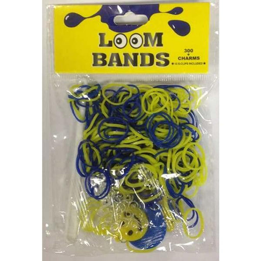 Blue And Yellow Loom Bands
