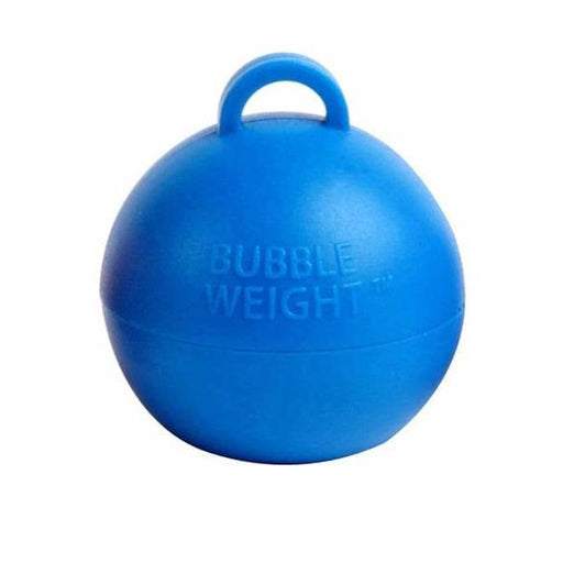 Blue Bubble Balloon Weights 1pk