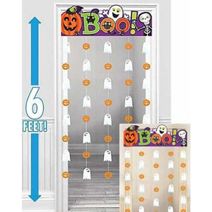 Boo Family Friendly Doorway Curtain