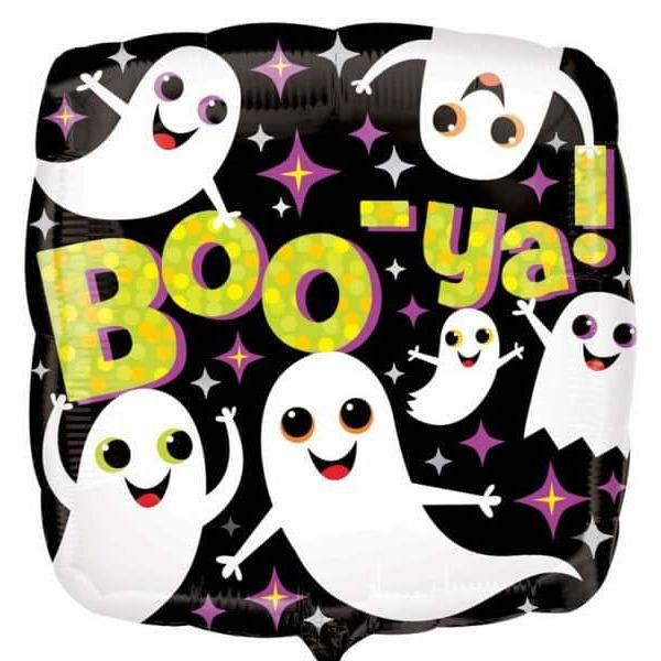 Boo Ya Ghosts Foil Balloons